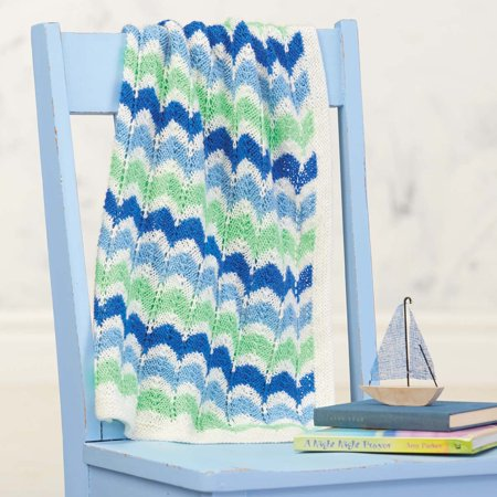 Low Tide Baby Blanket Knit Pattern