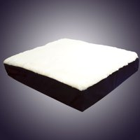 Gel Wheelchair Cushion with Fleece Top
