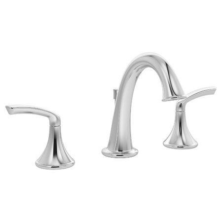 Elm 2-Handle Widespread Faucet with Drain Assembly, 1.5 gpm
