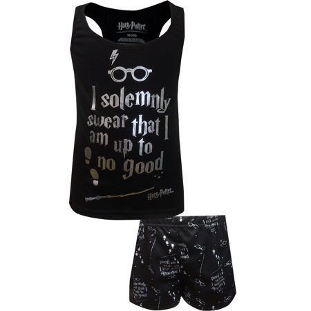 Harry Potter Marauder's Map Racerback Shortie Pajama