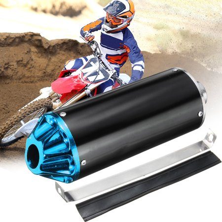 28mm Bike parts Exhaust Muffler with Clamp For TTR CRF50 SSR Thumpstar 90cc 110cc 125cc Dirt Pit