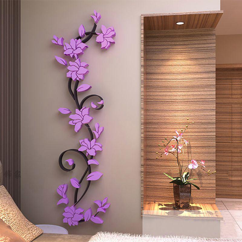Wall Sticker Beauty Women Face Removable DIY Art Decals Living Room Home Decor