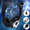 Stereo Super Bass 3.5mm Leather Gaming Headset Headphone Headband Mic USB Headset For PS4 Xbox One PC Notebook Laptop Tablet Mobile Phones Noise cancelling Surround Sound Headphone can be used for many occasions such as Internet telephony, game, education lab, video conferencing, etc. For this reason, when you come to choose a headphone, you should pay attention to its tone quality. This High-Quality OV-Q2 USB Headphone from our website can provide you high-quality sound. Designed with high technology, it can transfer sound quickly and clearly. In addition, this fashionable headphone can match you perfectly. It is a good choice for you. You cannot miss it.1.6.6FT feet cable length, USB Port Micphone Headphone great For Cell Phones/ TV PC Laptop Notebook2.40mm speaker professional output.The directivity, with excellent stability, Enhances game sounds for a more immersive experience3.PERFECT FIT:Adjustable headband for the perfect fit. Help you focus on the game,not easy to be outside noise interference.4.VERSATILE COMPATIBILITY: Compatible with , Windows XP, Vista, 7, 8, and 8.1,10; The headset has high sensitive Microphone and driver-free suitable for all audio devices with USB port.5.NOISE CANCELING: Closed earcup design Gaming Headset, covers your entire ear and cuts out external sound very effectively, and with none of the irritating seashell effect many headsets suffer.6.HIGH QUALITY MICROPHONE:The gaming mic in our sades headphone is high sensitive and durable.Its crystal clear and well-grounded so it doesnt crackle as you adjust it.7.EXTERNAL AUDIO CONTROL: Includes an external audio volume control for quick and convenient adjustment. COMFORTABLE FIT: In this gaming headphone all contact points are finished in soft but durable materials, and the memory foam around each earcup keeps you comfortable for long periods.8.HIGH MAGNETIC NDFEB DRIVER UNITS: Clear sound gaming headset, operating strong brass,acoustic positioning precision, you can feel the full force o