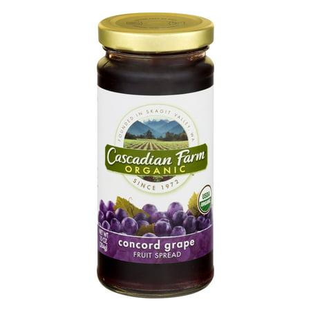 Cascadian Farm Concord Grape Fruit Spread, 10 oz Jar