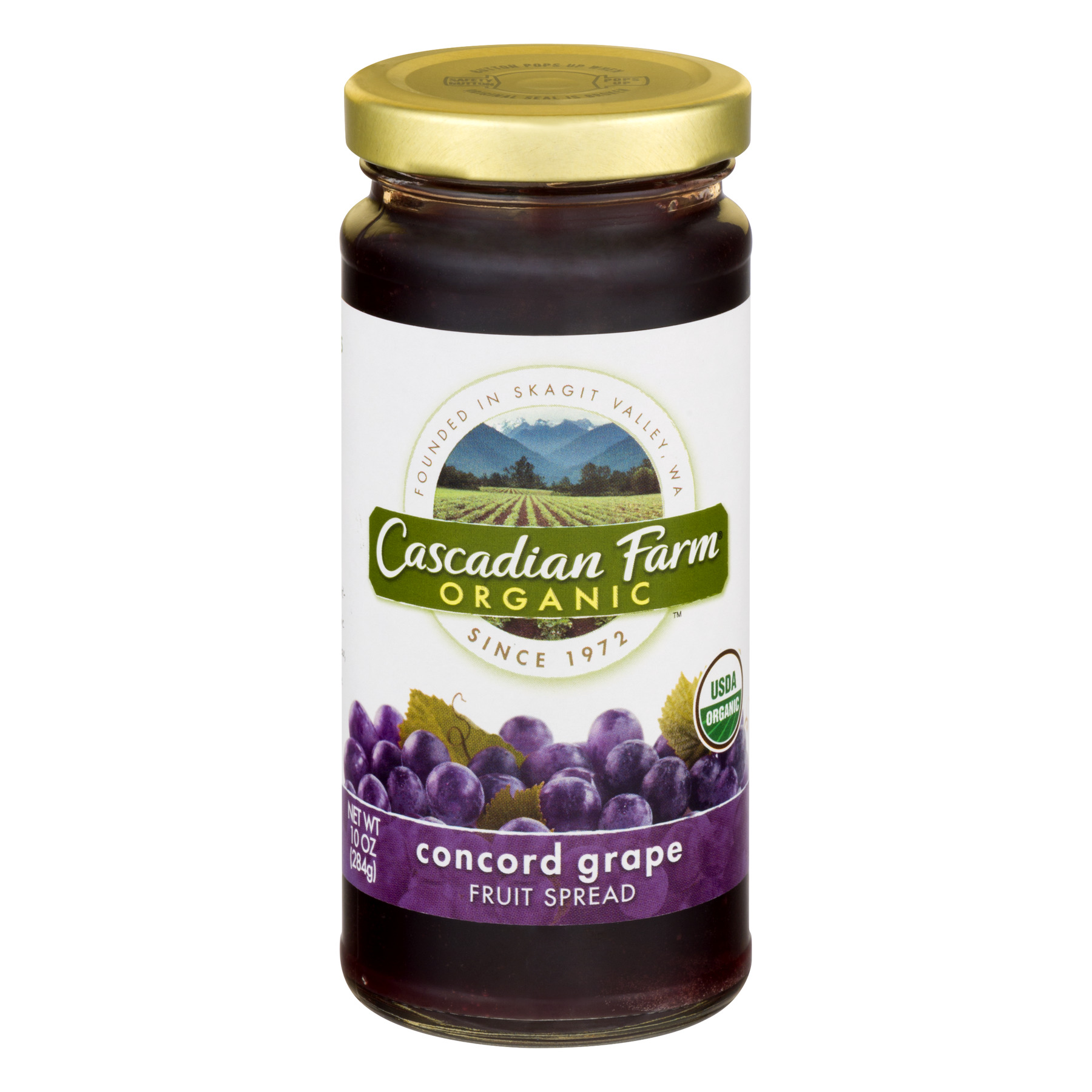 Cascadian Farm® Concord Grape Fruit Spread, 10 oz