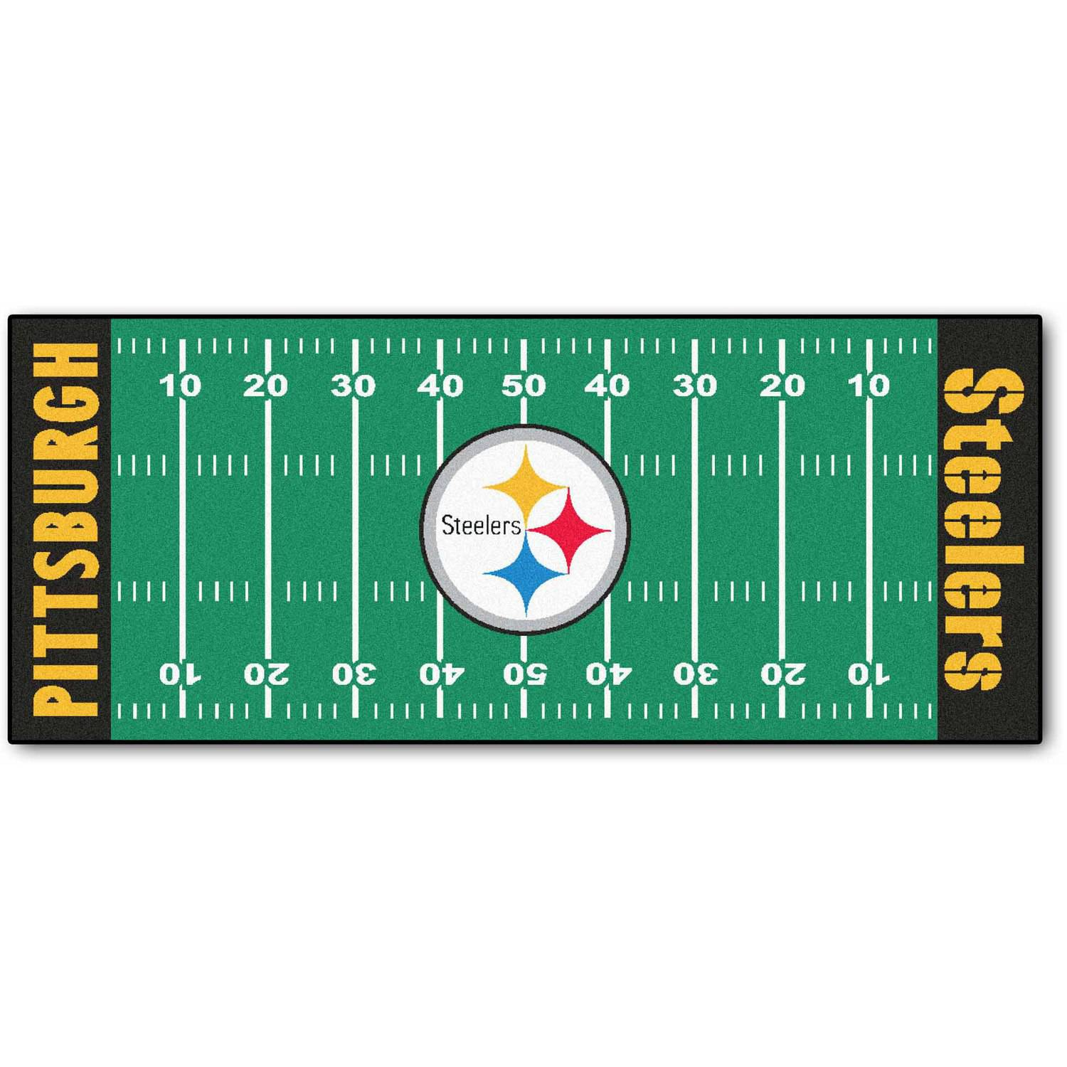 NFL Pittsburgh Steelers Football Field Runner