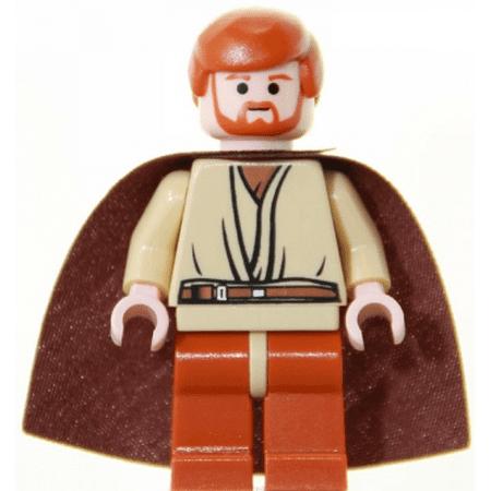 LEGO Star Wars Obi-Wan Kenobi, Dark Orange Legs (Lego Obi Wan Kenobi)