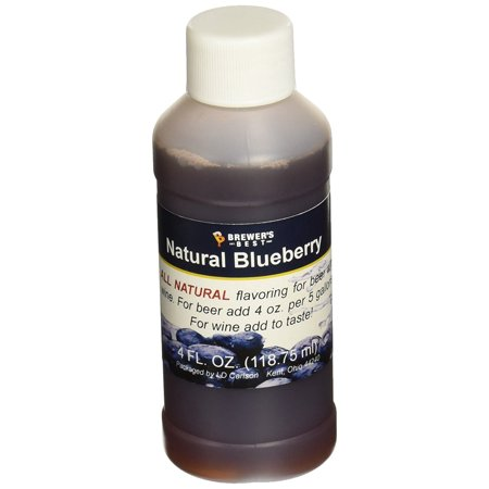 Natural Beer and Wine Fruit Flavoring (Blueberry), Natural blueberry flavoring By Brewer's Best Ship from