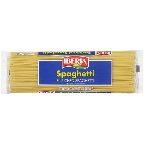 Iberia Enriched Spaghetti, 16 oz