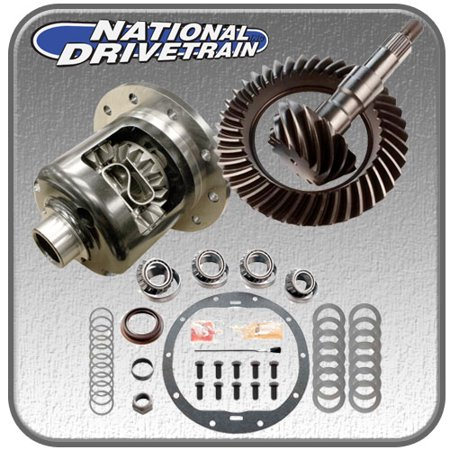 RING AND PINION, BEARING INSTALL KIT & NEW POSI - GM 8.5 10 BOLT - 3.73 RATIO 28