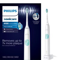 Philips Sonicare ProtectiveClean 4100 Plaque Control, Rechargeable Electric Toothbrush