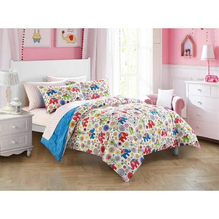 Mainstays Kids Boho Girl Bed in a Bag Bedding (Girls Full Size Bedding)