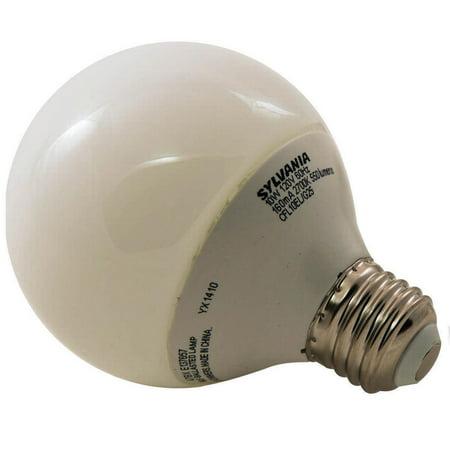 (Sylvania 28918 Non-Dimmable Compact Fluorescent Lamp, 10 W, 120 V, Globe, 10000 hr)
