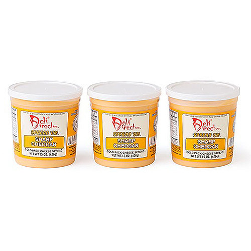 Deli Direct Spread 'Um Creamy Sharp Cheddar Cheese Food, 45 oz