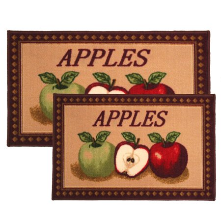 Mixed Apple Kitchen Rug Area Rug Mat Carpet Non Skid