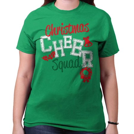 Cheer Squad Christmas Shirt | Holiday Season Gift Idea Merry T-Shirt Tee for $<!---->