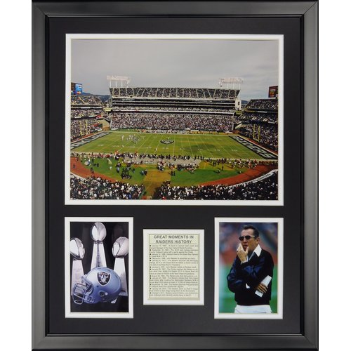 Legends Never Die NFL Oakland Raiders - Raider Stadium Framed Memorabili