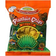 Ecuador Tropical Gourmet Garlic Flavor Plantain Chips, 3 oz