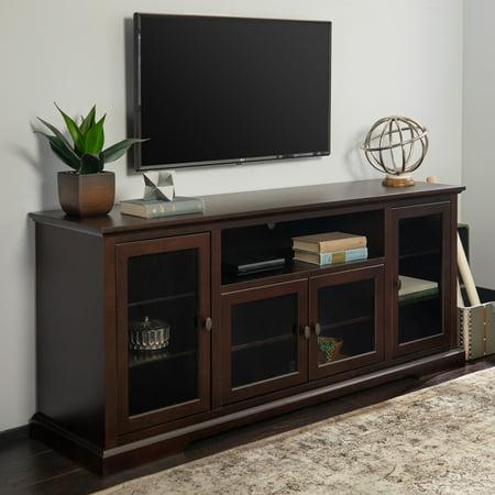 Middlebrook Designs Beaverhead 70-inch Espresso Highboy TV Stand Console Espresso Tv Console Set