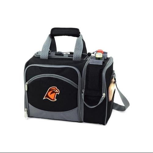 Malibu Embroidered Tote in Black - Bowling Green University Falcons