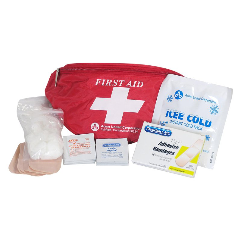 Physicians Care Fanny Pack Kit - 49 Pieces