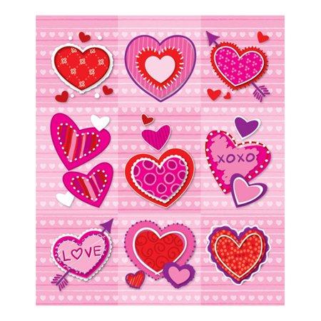 VALENTINES PRIZE PACK STICKERS - Valentine Stickers
