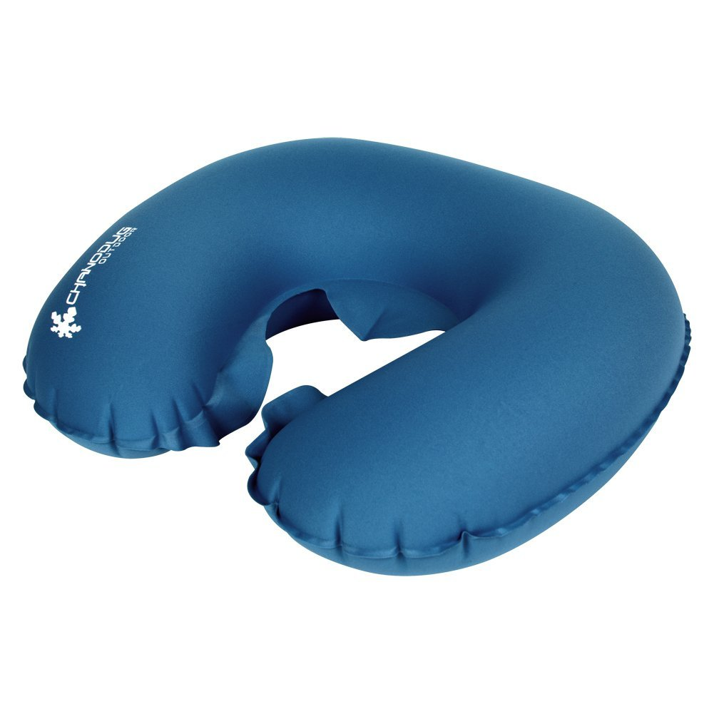 CHANODUG Inflatable Air Pillow Ultralight Compressible U-shaped Travel Pillows For Camping, Hiking, Backpacking and Airplanes