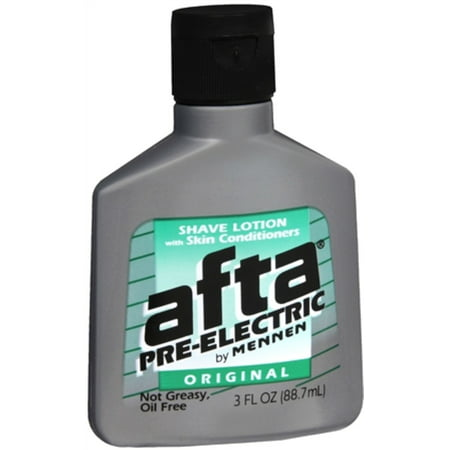 - Afta Pre-Electric Shave Lotion Original 3 oz (Pack of 3)