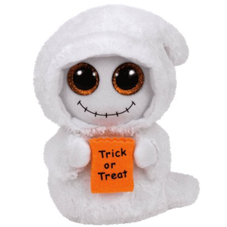 Boo The Ghost - Ty Inc - Beanie Boos - Mist the White Ghost - 9