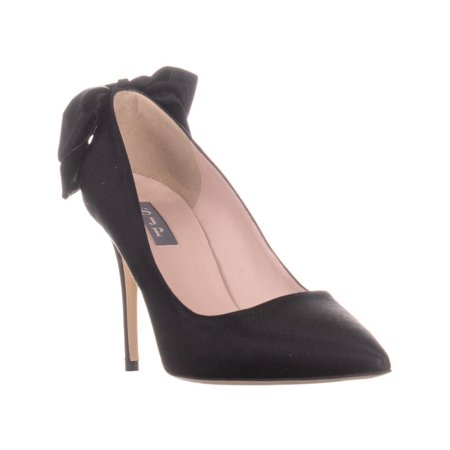 Womens SJP Lucille 90 Pointed Toe Pumps, Black, 10 US / 40 EU