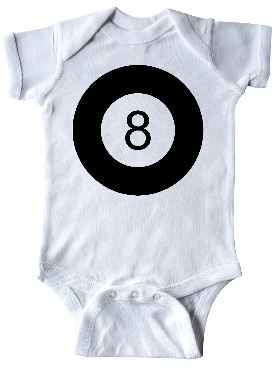 065b8a2977f8 Inktastic - Eight Ball Infant Creeper - Walmart.com