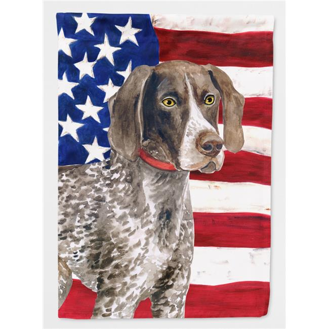 Carolines Treasures BB9641GF German Shorthaired Pointer Patriotic Flag Garden Size - image 1 of 1