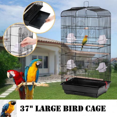 Bird Supplies Smart Bird Canaries Cage Finches Feeder Seats Plastic Swing Hook Bird Pet