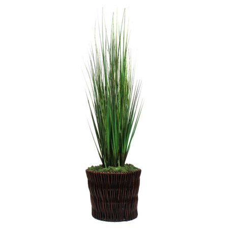 Dalmarko Designs Grasses Floor Plant in Basket