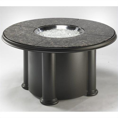 Outdoor GreatRoom Grand Colonial Granite Fire Pit Table