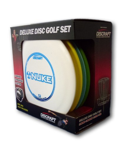 Discraft Deluxe Disc Golf Set (4 Disc and Bag) by Discraft