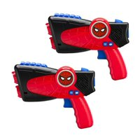 Spiderman Far from Home Laser-Tag for Kids Infared Lazer-Tag Blasters Lights Up & Vibrates When Hit, Have a blast: grab a friend and fire up those lasers!.., By eKids