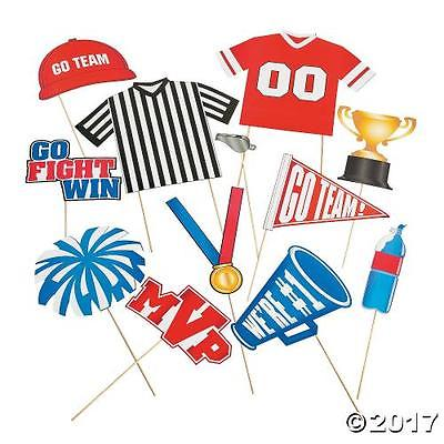 Oriental Trading IN-13729026 Sports Photo Stick Props By Fun Express