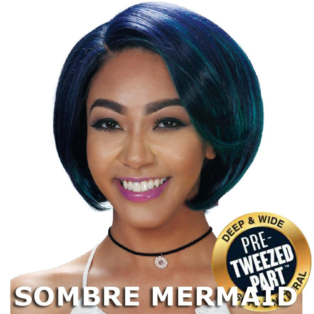 Sis Slay Pre-Tweezed Part Hair Full Wig - SAGE - SAGE (SOMBRE MERMAID)