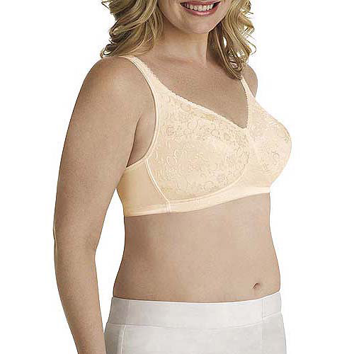 Playtex 18 Hour Stylish Support Full Figure Wirefree Bra, Style 4608