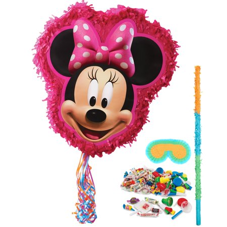 Disney Minnie Mouse Pinata Kit - Baby Minnie Mouse 1st Birthday Pinata