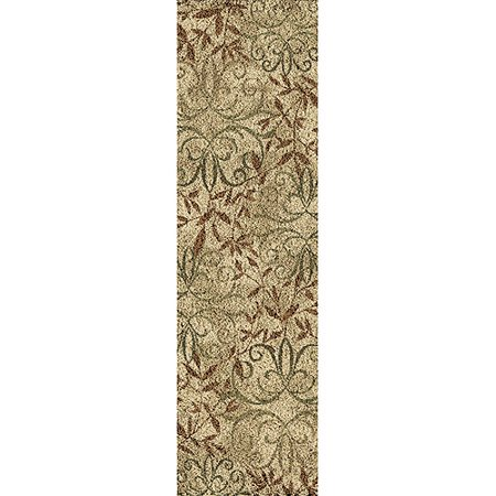 Better homes and gardens iron fleur olefin shag runner rug - Better homes and gardens iron fleur area rug ...