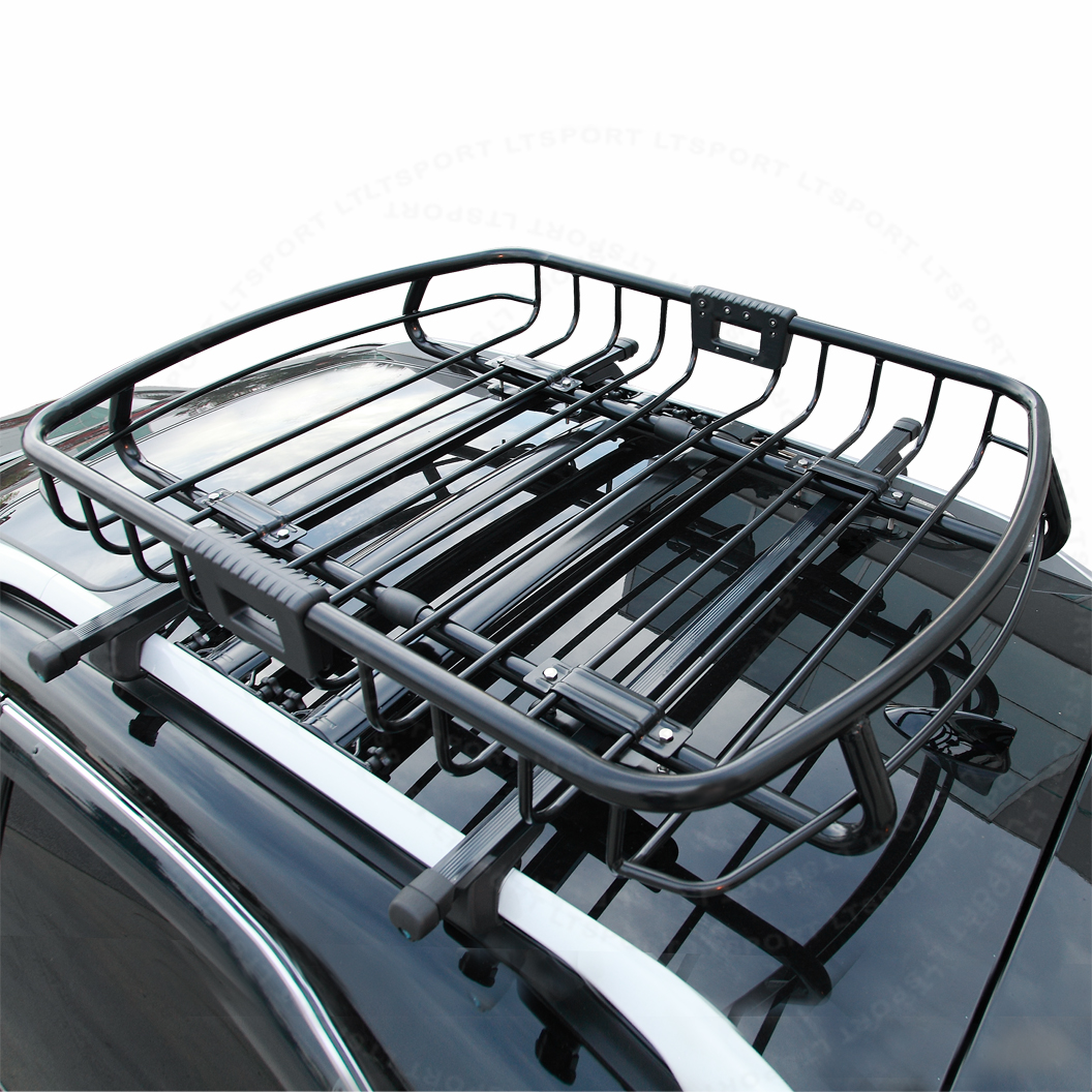 Rooftop Basket Rack Mount Storage Carrier For 2007-2007 Mercedes-Benz 1 Set For GL320
