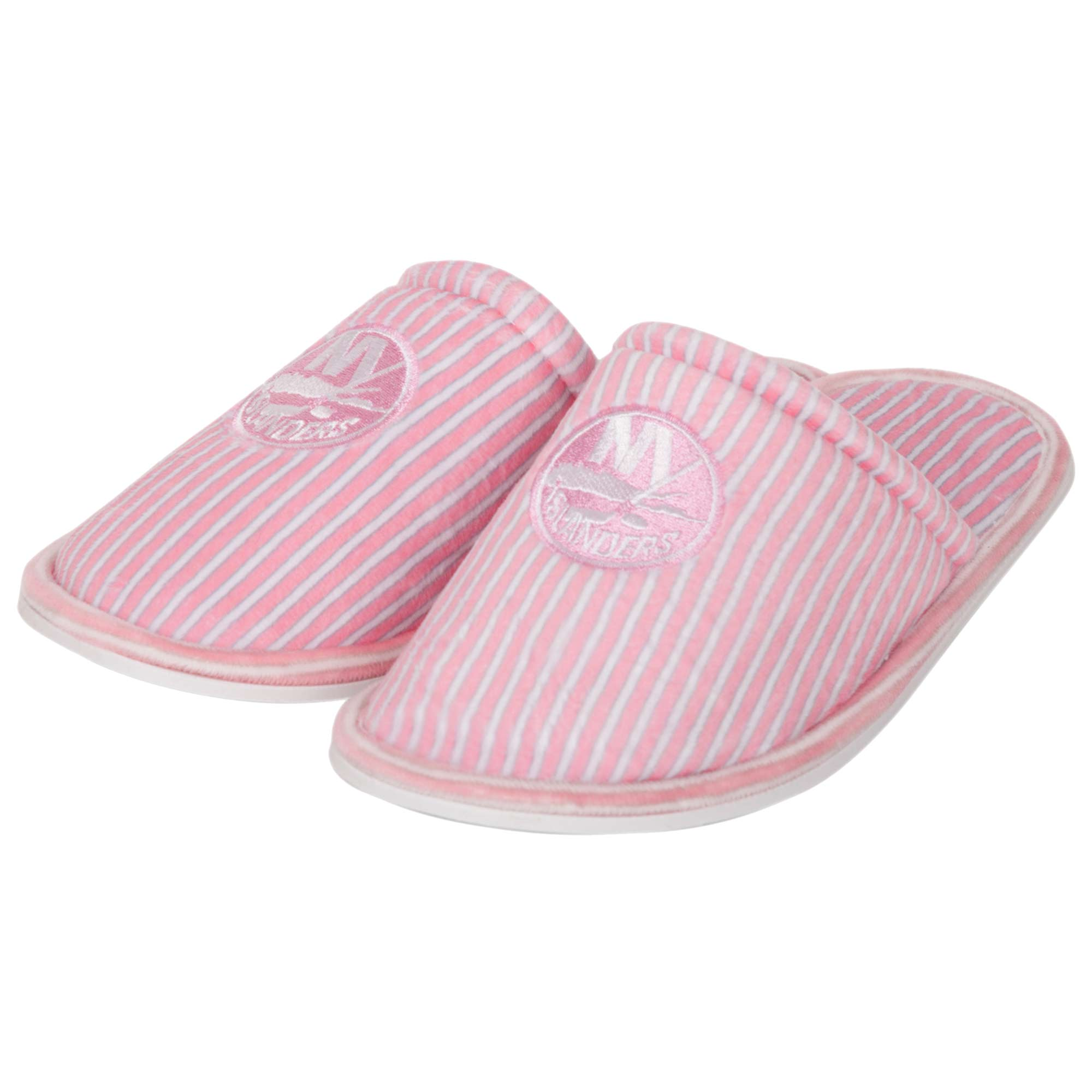 New York Islanders Women's Slide Slipper - Pink