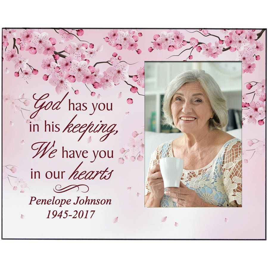 Personalized Heartfelt Memories Memorial Frame, Available in Male or Female