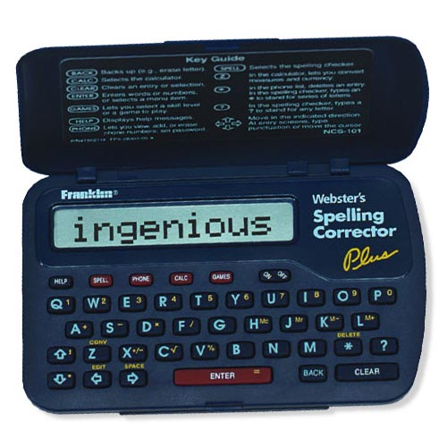 Franklin NCS-101 Webster's Spelling Corrector Plus