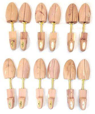 Cedar Elements Little Wholesale Program Cedar Shoe Tree 6 Pairs (M) by