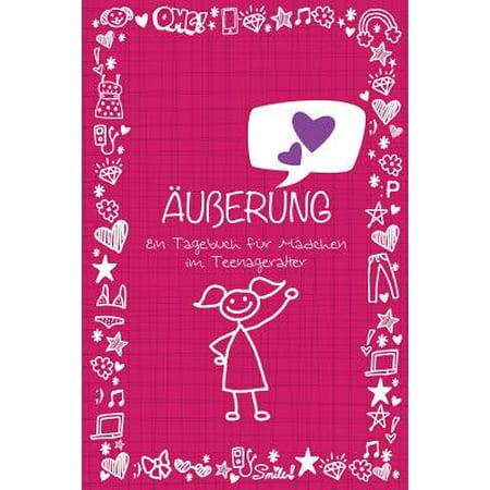Auberung Ein Tagebuch Fur Madchen Im Teenageralter (Große Gläser Für Mädchen)