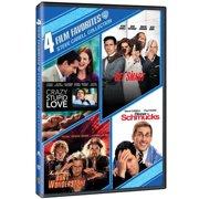 4 Film Favorites: Steve Carell Collection Crazy, Stupid Love   Get Smart   The Incredible Burt Wonderstone   Dinner For... by WARNER HOME VIDEO