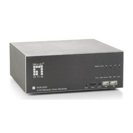 LevelOne NVR-0204 Network Video Recorder 4-CH - CP Technologies